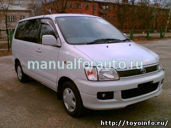 Toyota NOAH ремонт