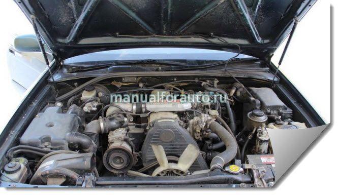 ремонт двигателя 2L - T