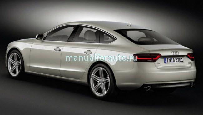 Audi A5 рестайлинг