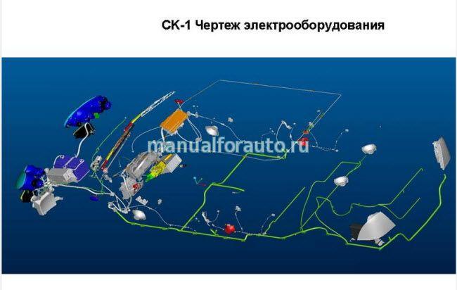 Geely CK электросхемы