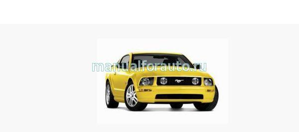 Ford Mustang ремонт двигателя