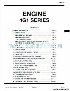 4G13, 4G18 ремонт