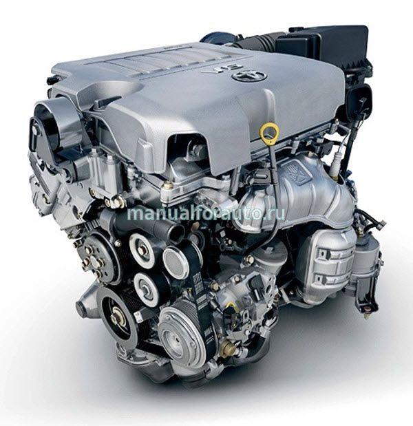 двигатель тойота 2gr fe