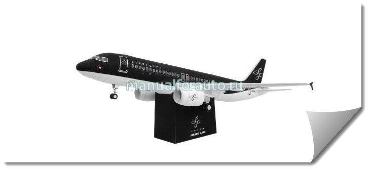 самолет A320  сделай сам