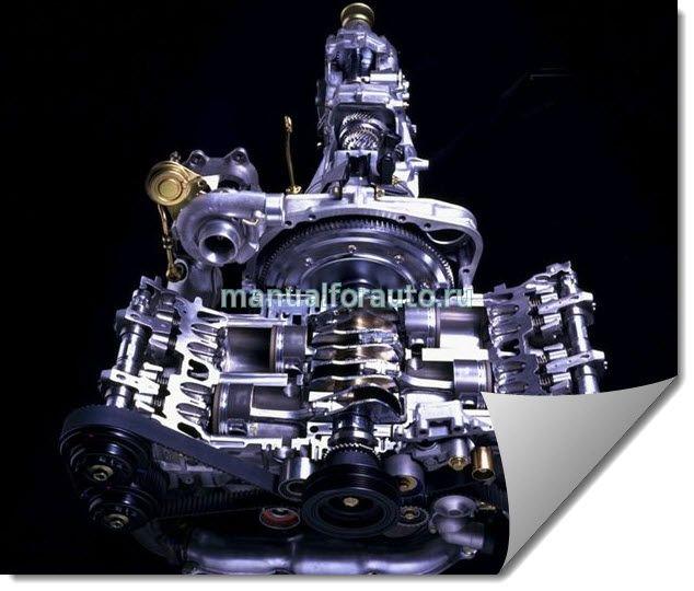 Ремонт двигателя Субару