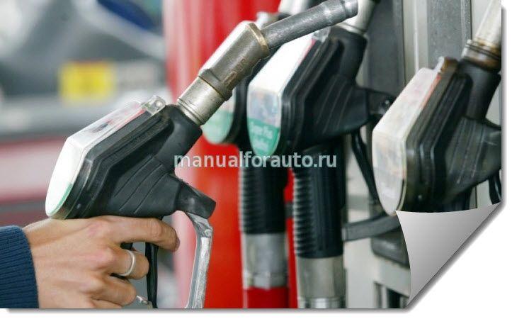 Розничные цены на бензин