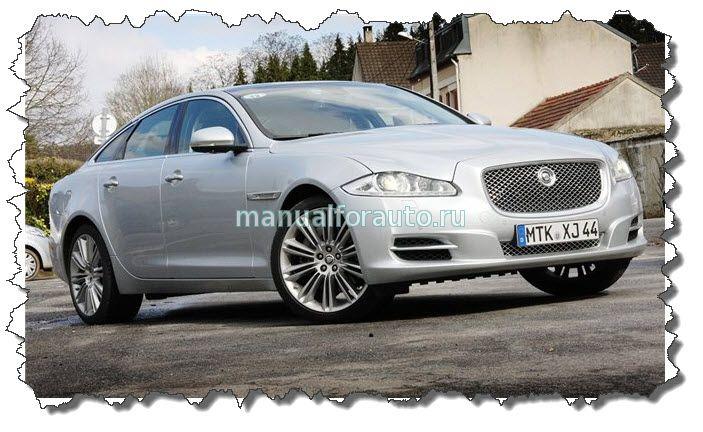 Jaguar XJ тест