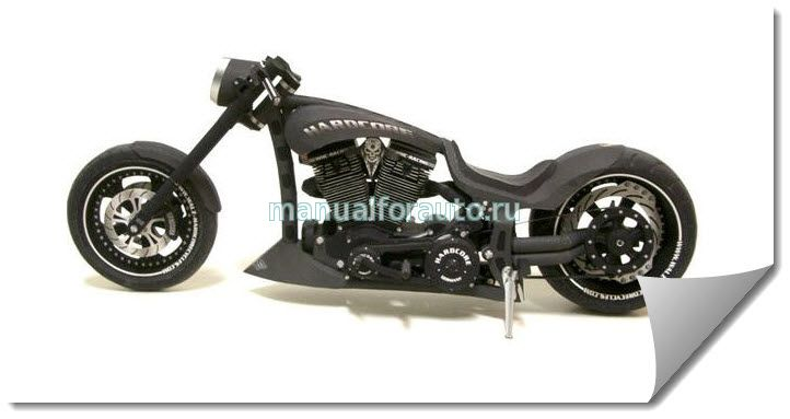 Mille Miglia Custom Chopper сделай сам