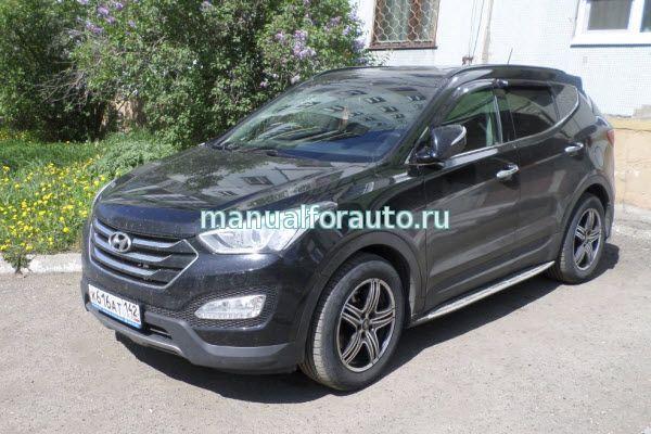 Hyundai Santa Fe Руководство