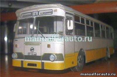 ЛиАЗ 677 сделай сам