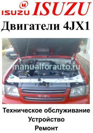 Дизельные двигатели Isuzu 4JX1
