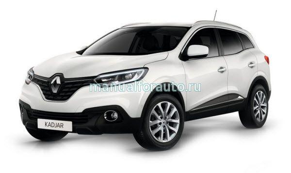 точки подключения Renault Kadjar