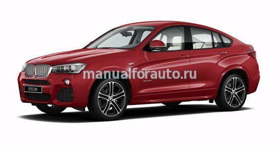Точки подключения BMW X4