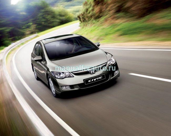 Точки подключения на Хонда Цивик