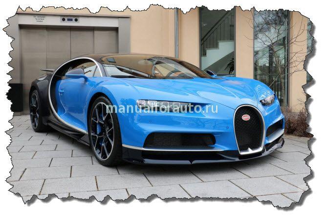 Bugatti Chiron сделай сам
