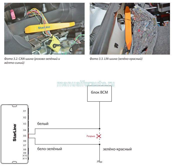 42084462 - Точки подключения сигнализации гранта норма