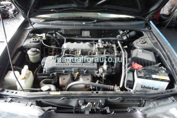 двигатель ниссан ga16de