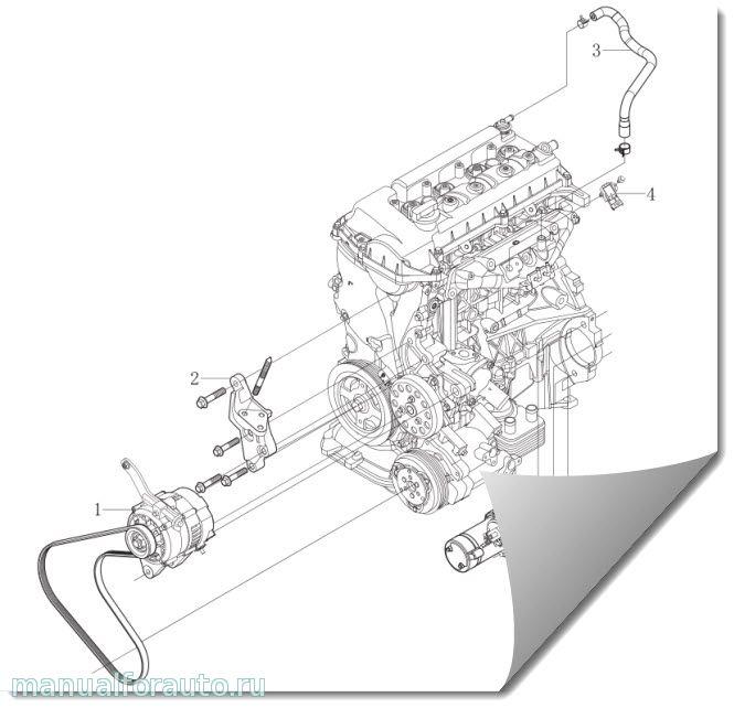 двигатель gw4g15b