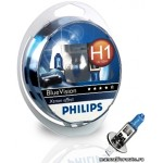 Лампа Philips H1(55) P14.5S B.VISION ULTRA 2шт