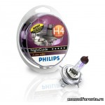 фото Лампа Philips H4(60/55)P43T-38 NIGHT GUIDE 12V 2шт