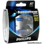 Лампа Philips H7(55) PX26D DIAMOND VISION 12V 2шт
