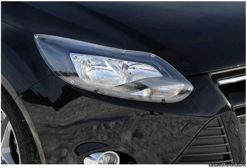 Защита фар Форд Фокус 3