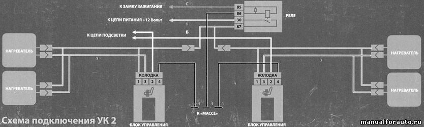 Электрику подключаем согласно схеме
