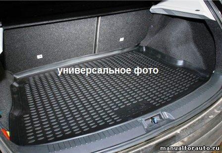 Коврик в багажник HYUNDAI Solaris