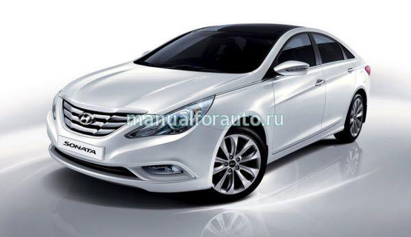 Установка сигнализации Hyundai Sonata, точки подключения
