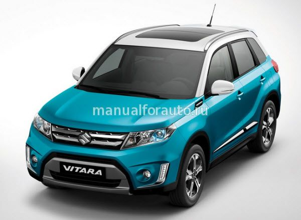 Suzuki Vitara модель с 2015 года, установка сигнализации