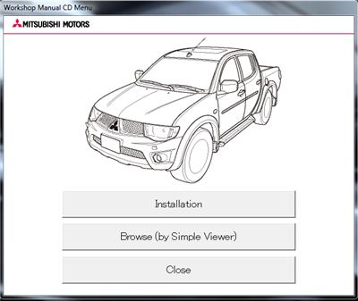 Mitsubishi L200 Руководство по ремонту с 2013 года