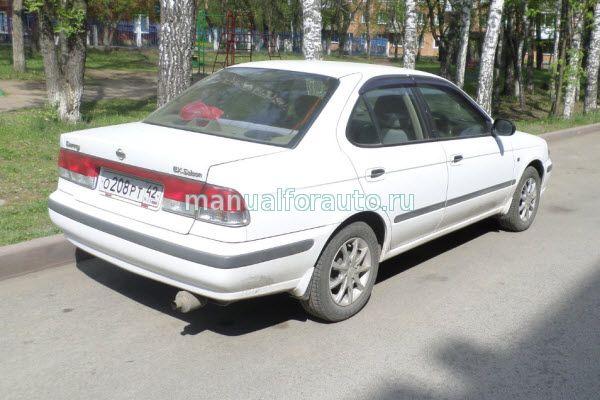 Nissan Sunny с 1998 года Руководство по ремонту