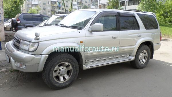Toyota Hilux Surf Руководство
