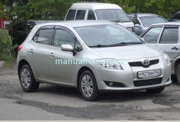 Toyota Corolla, Auris ,Руководство
