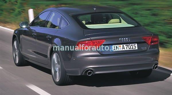 Audi A7 кузов