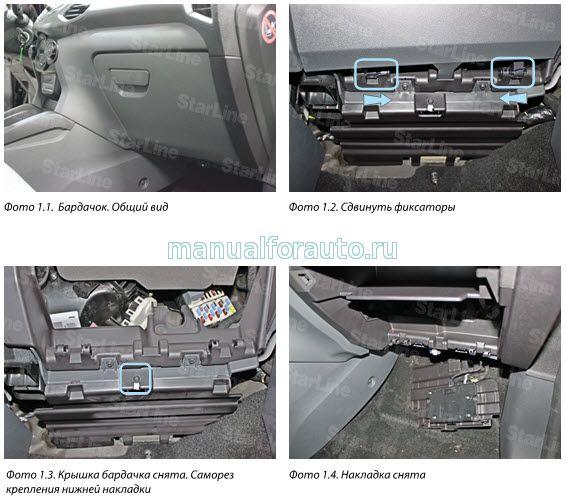 Точки подключения Ford EcoSport