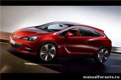 Установка сигнализации Opel Astra GTC, точки подключения