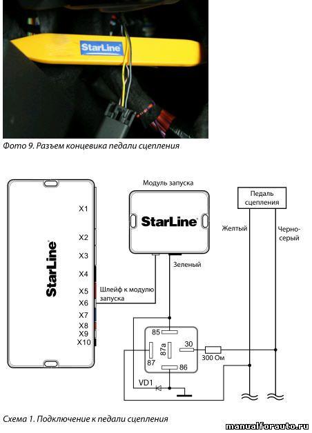 Для имитации нажатия на педаль сцепления на Opel Astra с МКПП