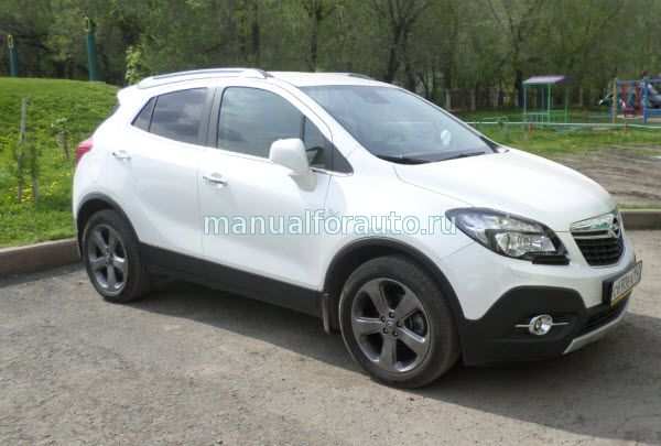Установка сигнализации Opel Mokka StarLine B94, точки подключения