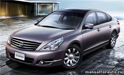 Установка сигнализации на Nissan Teana, точки подключения