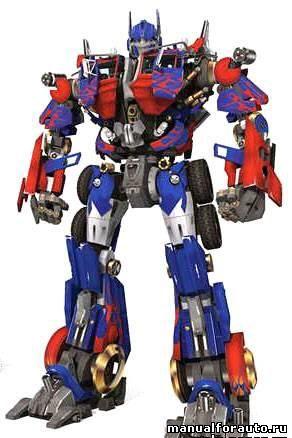 Автобот Optimus Prime Модель