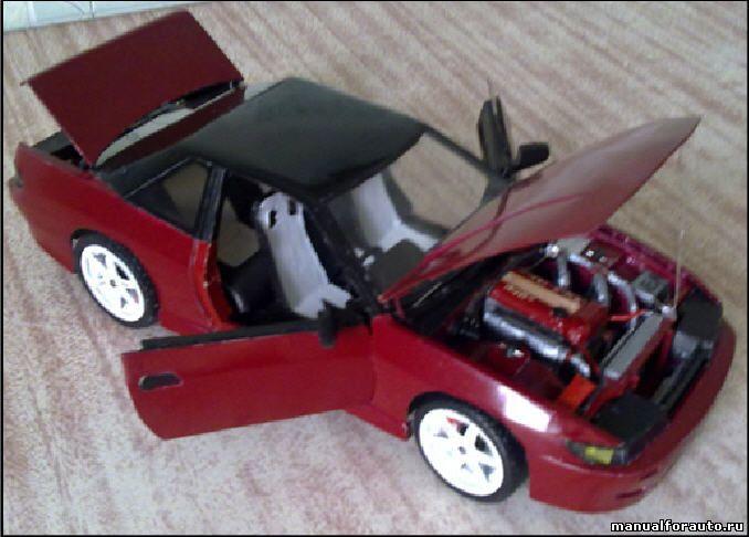 Nissan Silvia s13 модель из