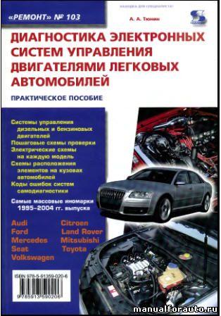 Диагностика электронных систем управления двигателями легковых автомобилей, диагностика двигателя автомобиля