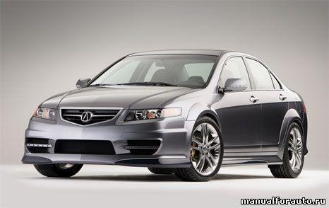 Acura TSX Ремонт и техническое обслуживание, Acura TSX service manual