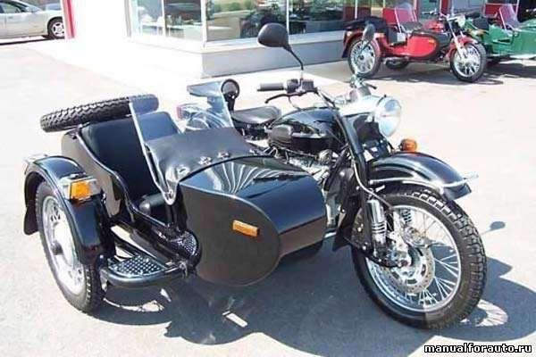 Днепр и урал ремонт мотоцикла урал