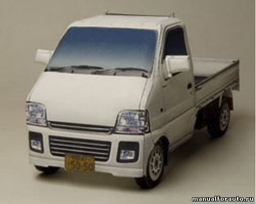 Suzuki Carry Бумажное
