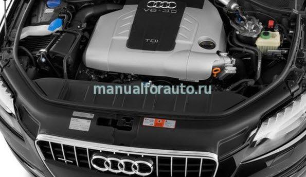 Audi Q7 двигатель