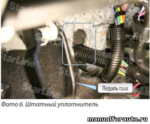 Провода в салон Лада Приора