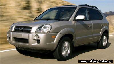 Установка сигнализации Hyundai Tucson, точки подключения