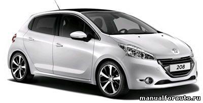 Установка сигнализации Peugeot 208, точки подключения